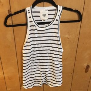Billabong high neck striped tank